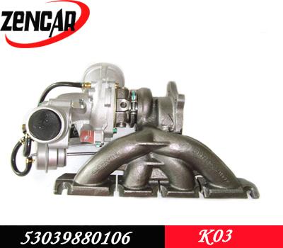 Audi quattro turbo k03 06D145701D