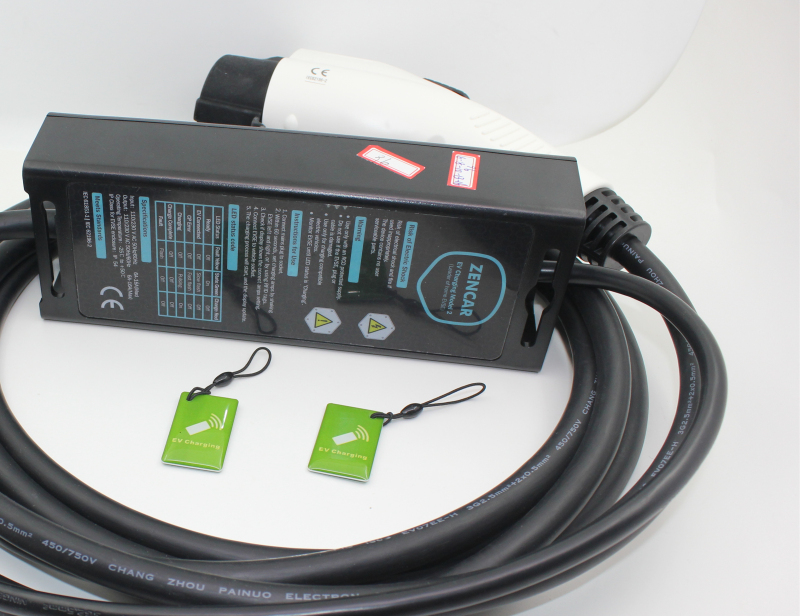 EV charger level 2 16A type 2 5 pins cee