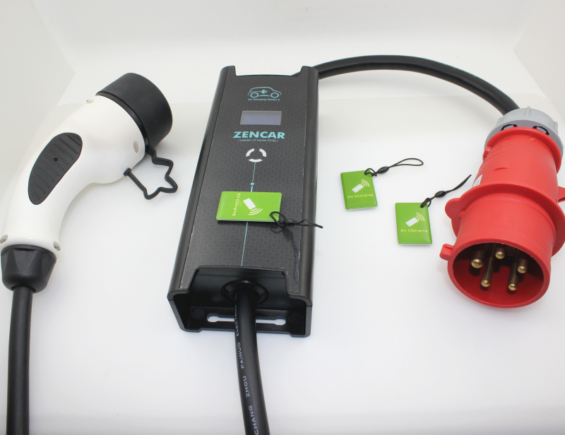 J1772 level 2 charger 32A EVSE 5 pins CEE
