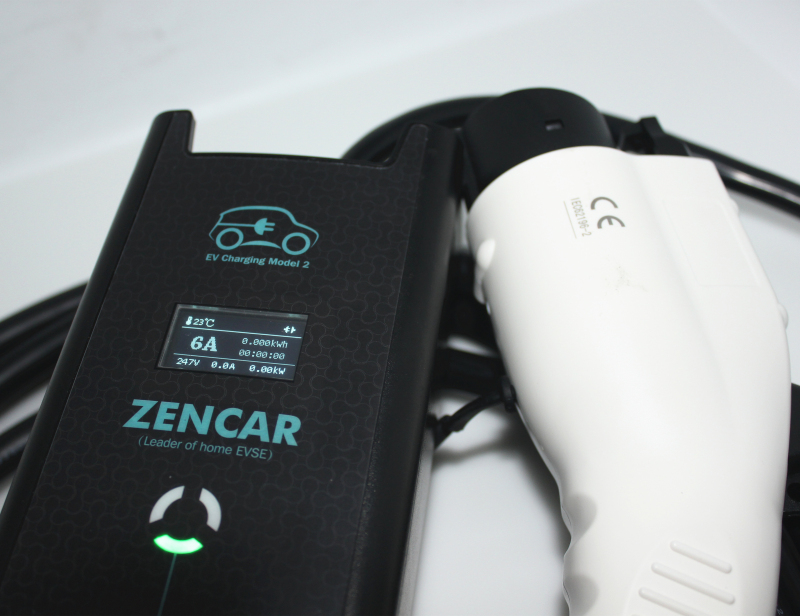 Level 2 electric car charger Type 1 3 pins cee